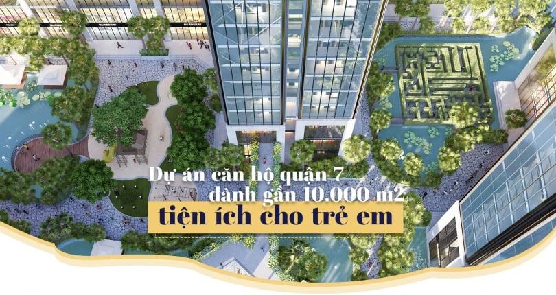 Dấu ấn Sunshine City Sài Gòn Quận 7 là tiện ích cảnh quan, Và tiện ích nội khu